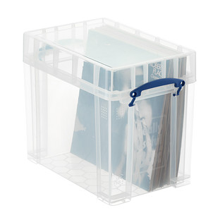 Really Useful Boxes Small Stackable Vinyl Record Storage