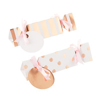 Gold Dots & Stripes Treat Boxes