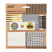 Grey, Gold & Black Gift Enclosure Kit