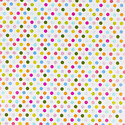 Pop Dots Prismatic Wrapping Paper