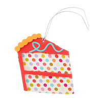 Pop Cake Slice Gift Tags