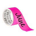 3M Scotch Pink Dry Erase Label Tape