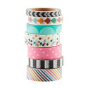 Brights Assorted Decorative Tape