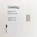 Dry Erase Message Board