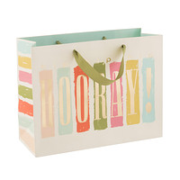 Large Hip Hip Hooray Gift Bag