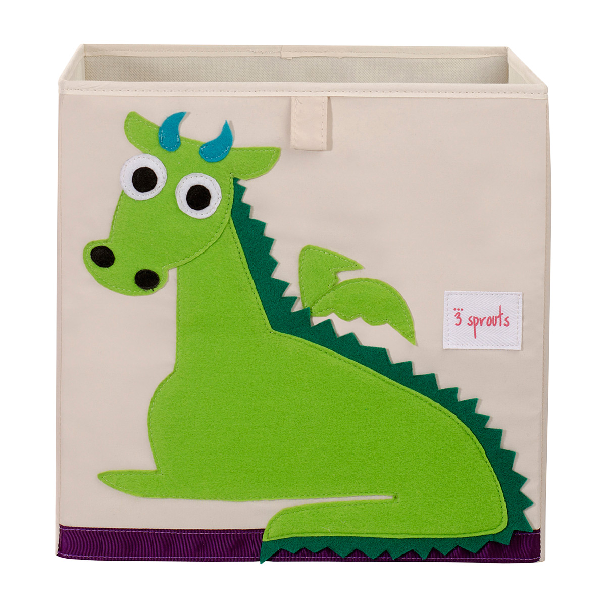 3 Sprouts Dragon Toy Storage Cube