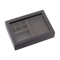 Charcoal Stackers Valet & Watch Lid