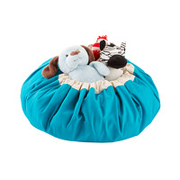 Turquoise Play & Go Mat and Toy Storage Bag
