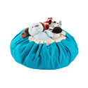 Turquoise Play & Go Mat & Toy Storage Bag