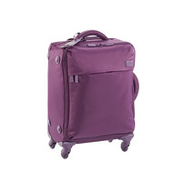"Lipault Purple 22"" Paris 4-Wheeled Luggage"
