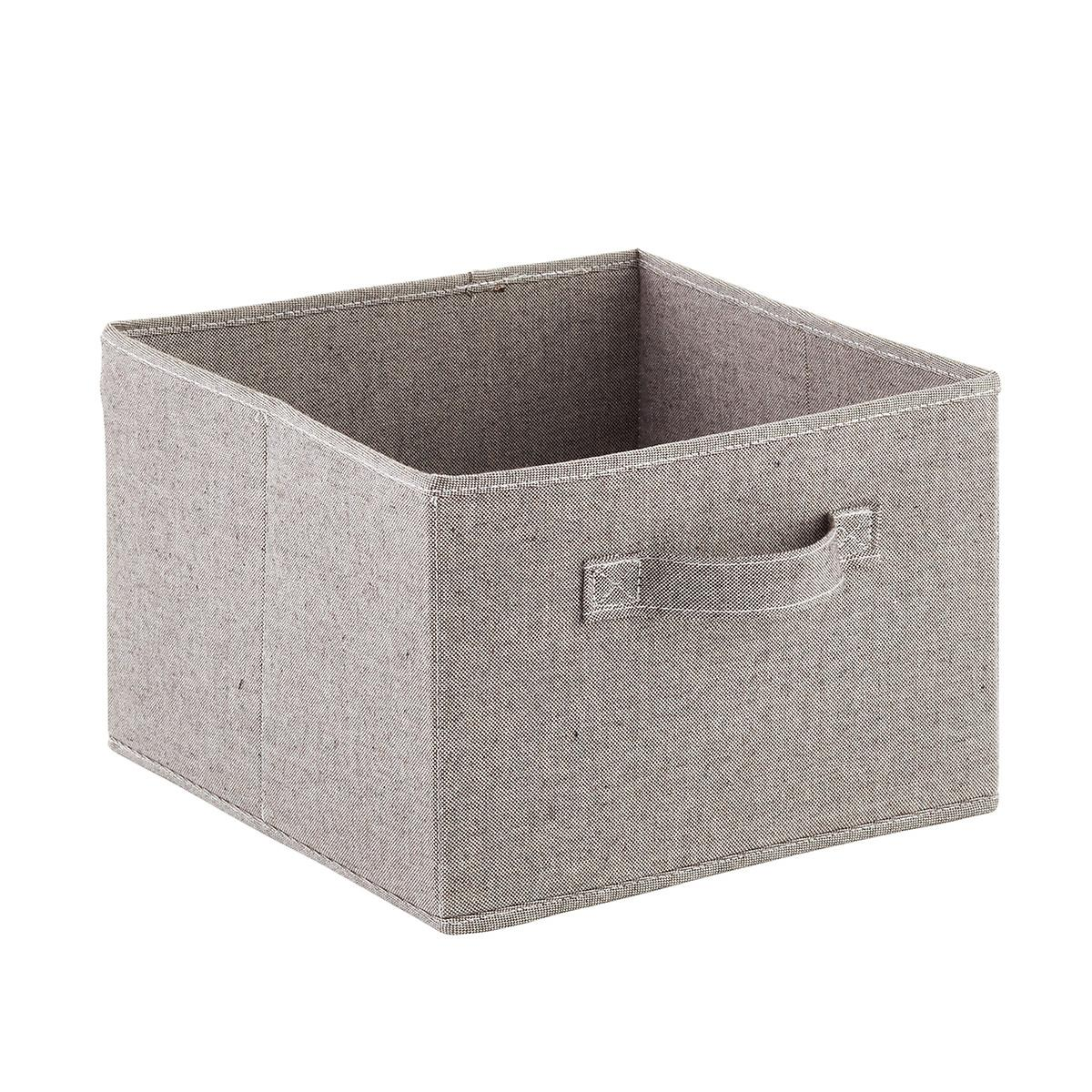 Grey 3- & 6-Compartment Hanging Sweater Organizer Drawer