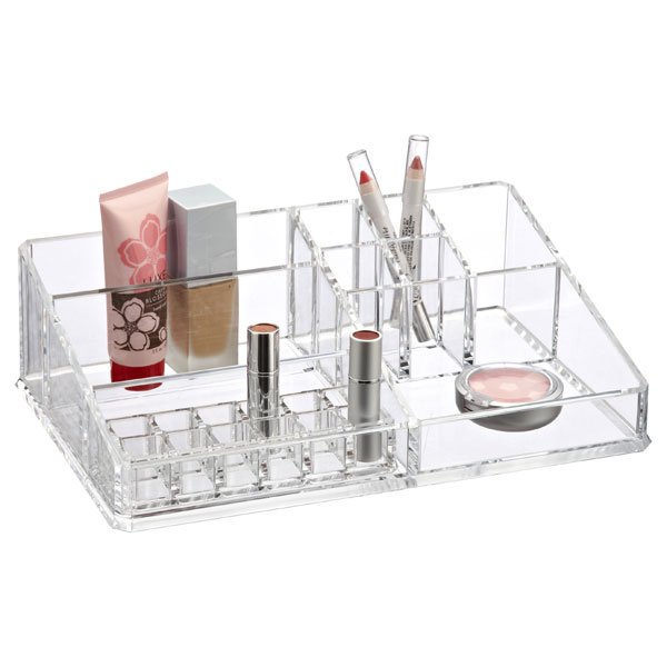 Acrylic Makeup Organizer - Large Acrylic Makeup Organizer | The Container Store