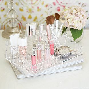 Luxe Large Acrylic Makeup Organizer