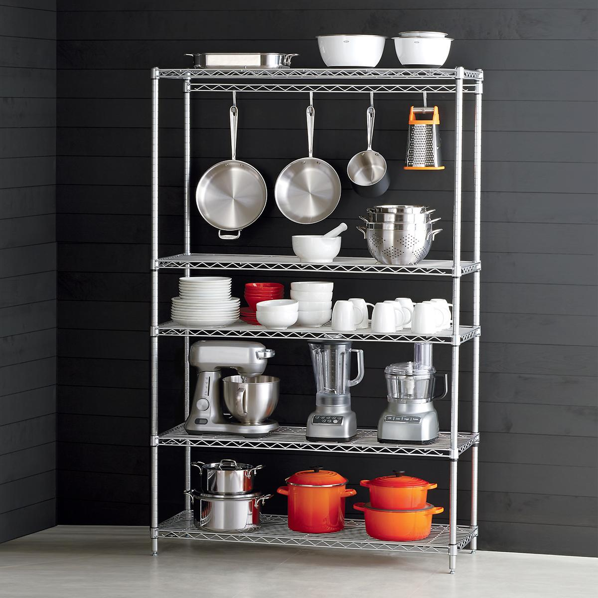 InterMetro Kitchen Cookware Storage