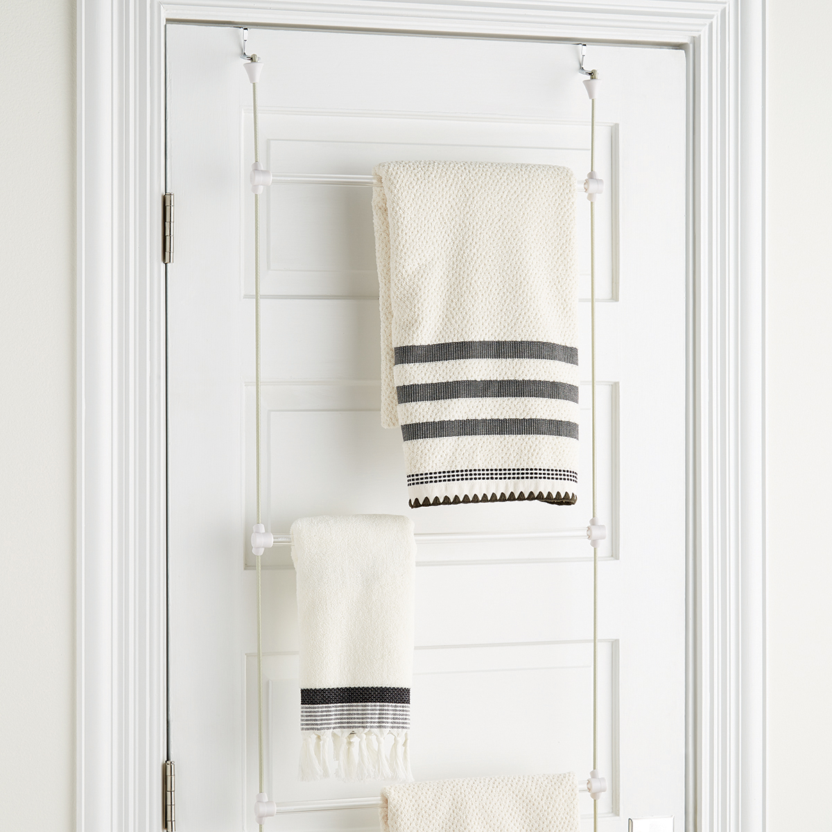 Lovely Towel Hanger Part - 7: Overdoor Towel Rack