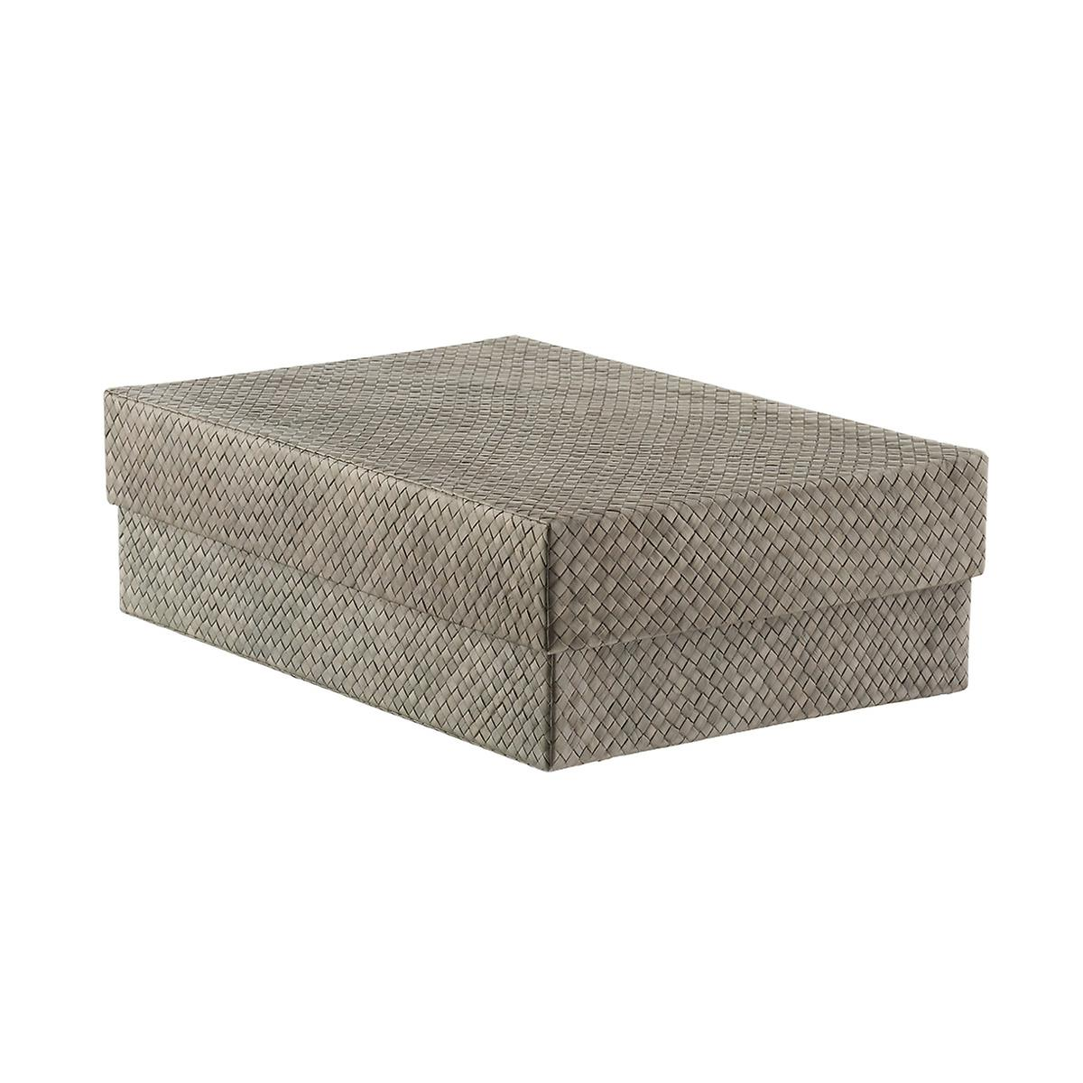 Grey Pandan Shirt Box