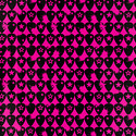 Pink & Black Guitar Pick Wrapping Paper
