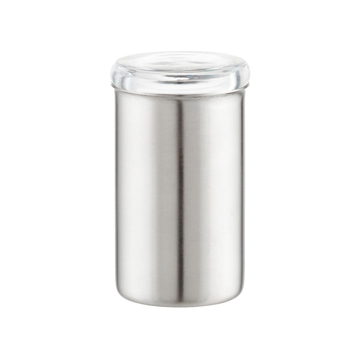 Stainless Steel Spice Jar with Acrylic Lid