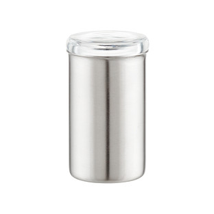 4.33 oz. Stainless Steel Spice Jar with Acrylic Lid
