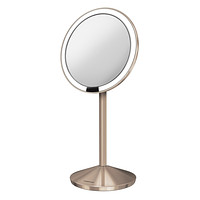 Rose Gold simplehuman 5X/10X Sensor Makeup Mirror