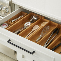 Kitchen Drawers Organizers drawer organizers, utensil holders & silverware trays | the