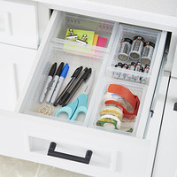 Stackable Organizers Junk Drawer Starter Kit