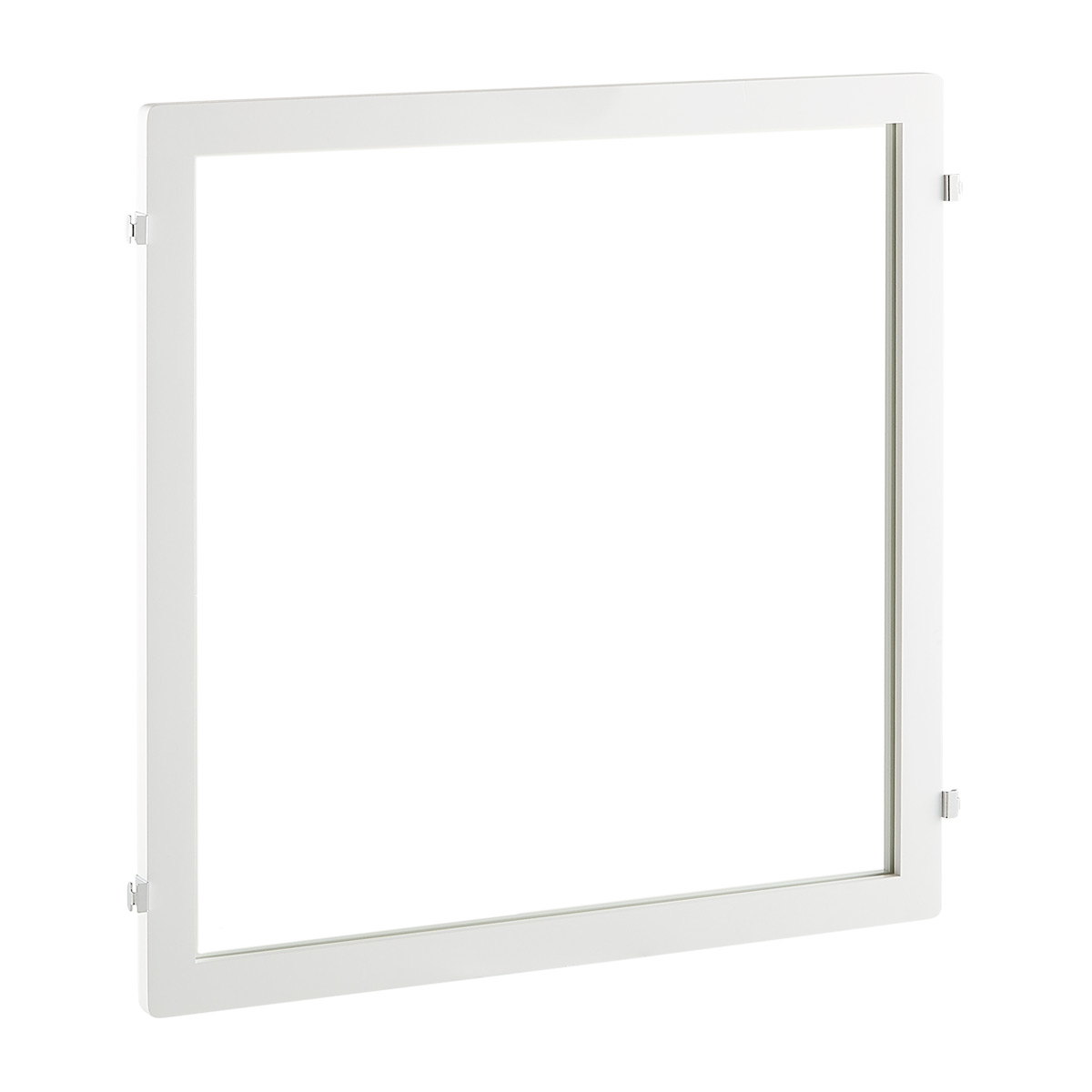 White Elfa Décor Mirror