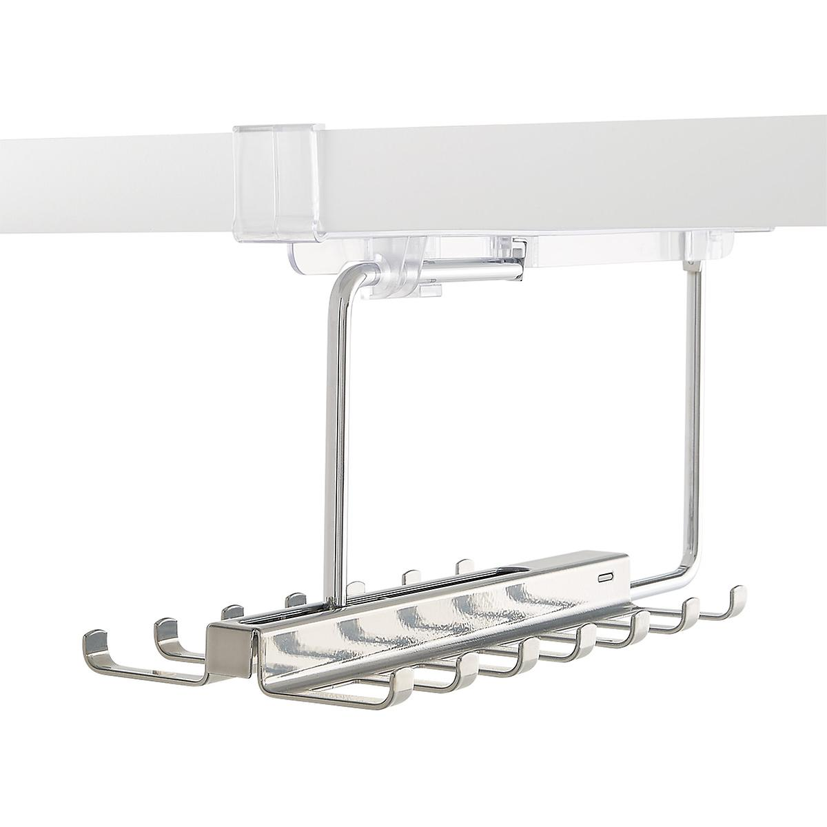 elfa décor Gliding Tie & Belt Racks