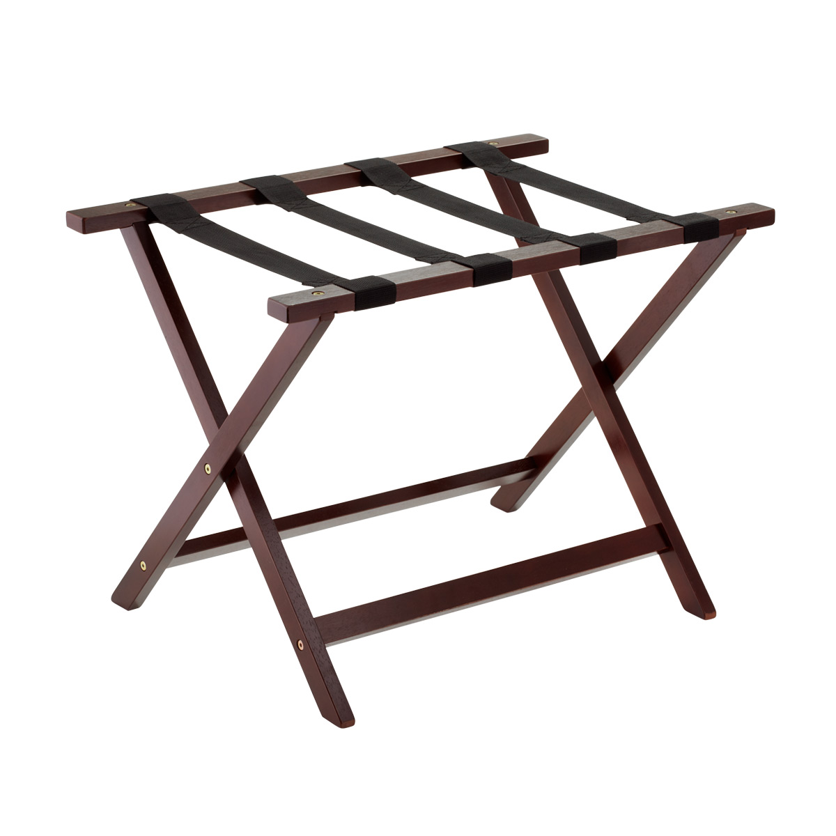 Elegant Java Wood Luggage Rack