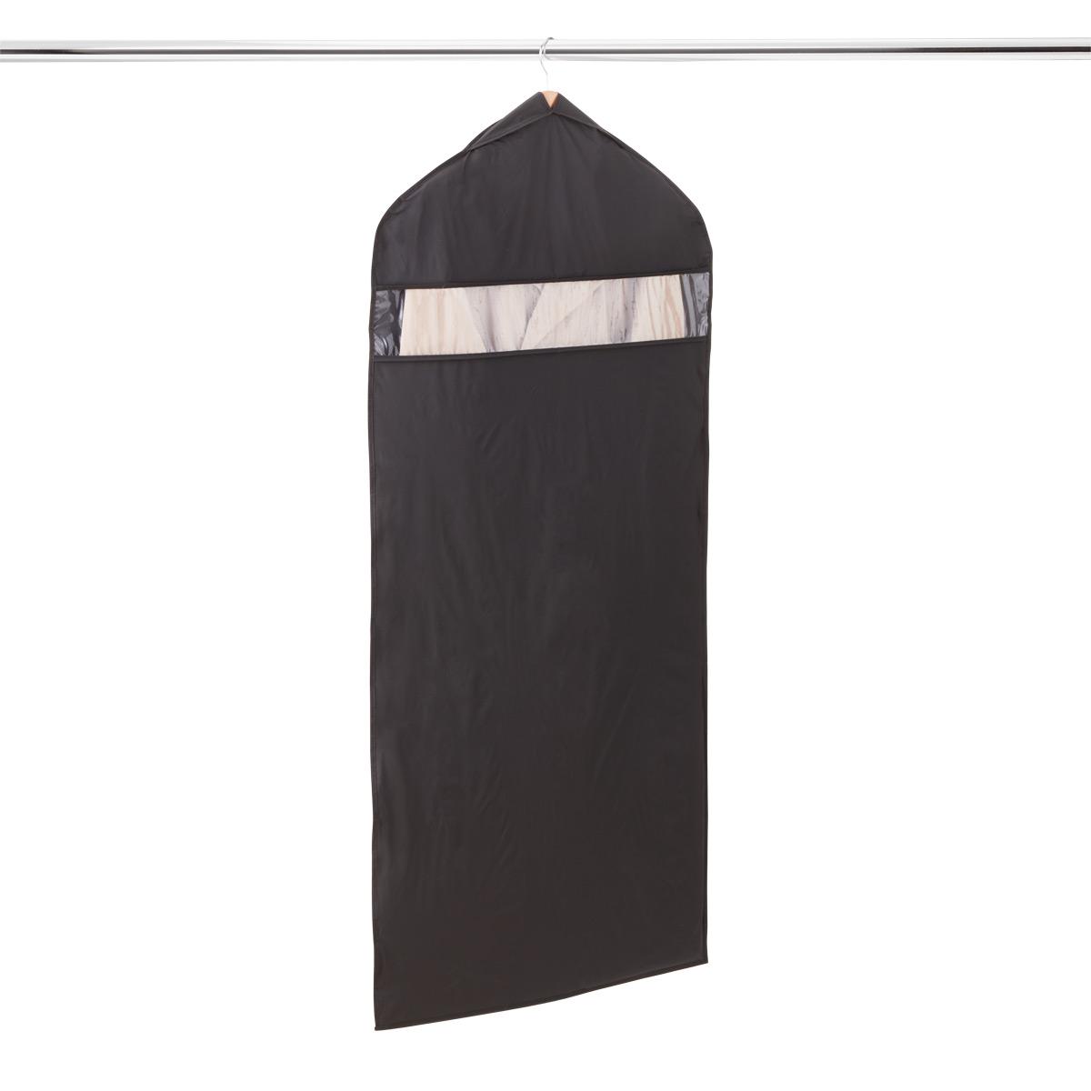 Black PEVA Hanging Dress Bag