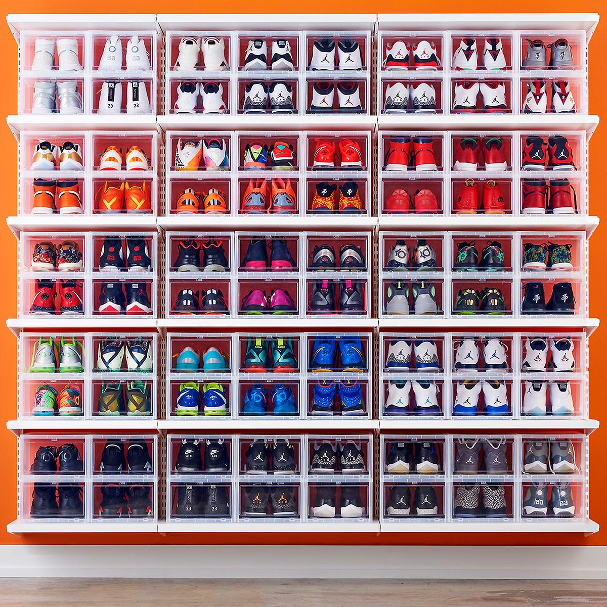 Men S Drop Front Shoe Box The Container Store