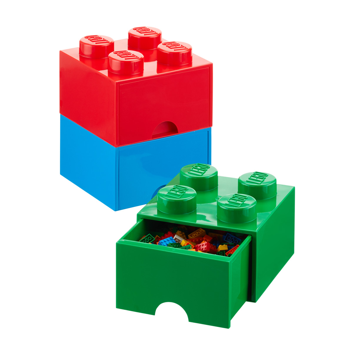 Roll over to zoom  sc 1 st  The Container Store & Red Large Lego Storage Drawer | The Container Store