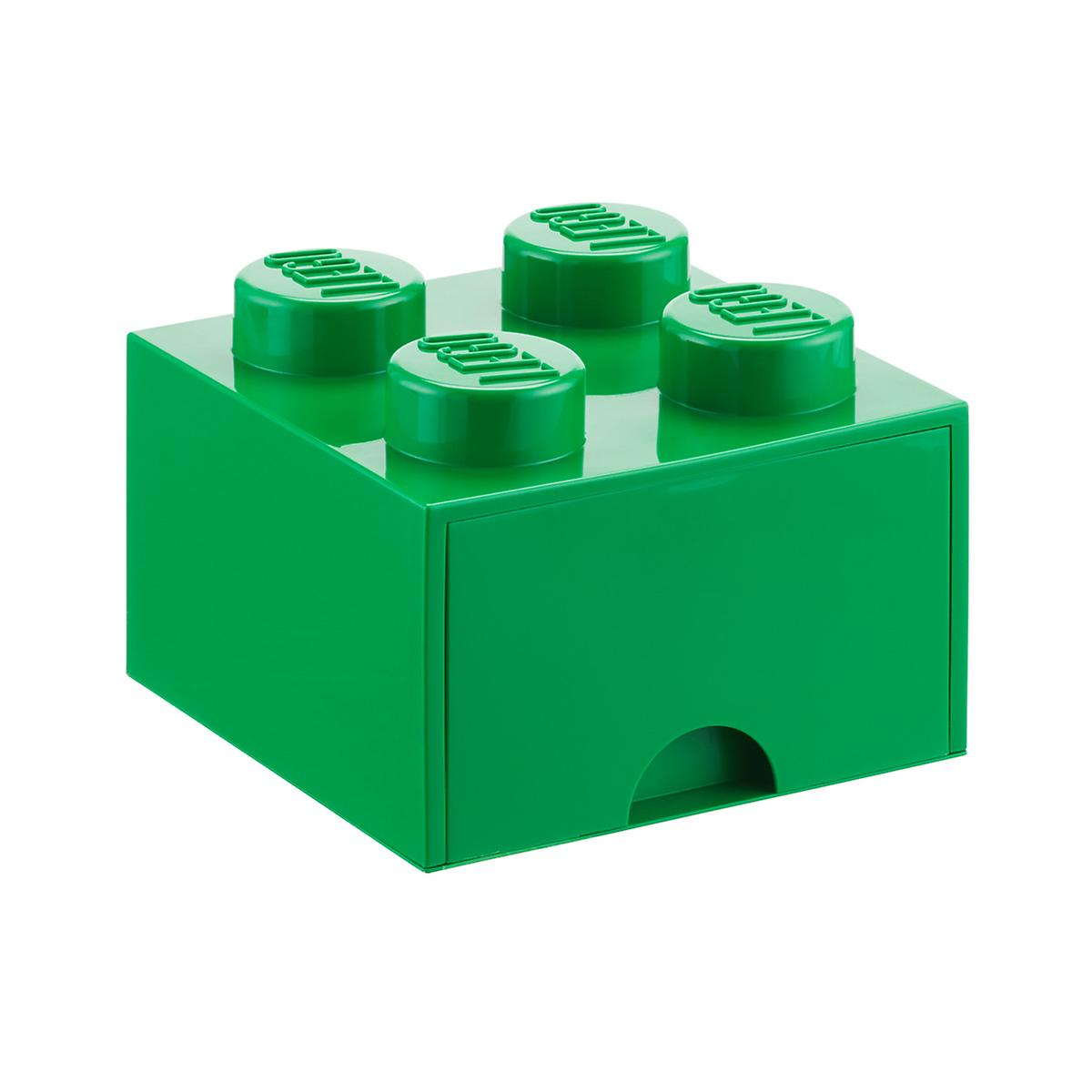 green large lego storage drawer the container store. Black Bedroom Furniture Sets. Home Design Ideas