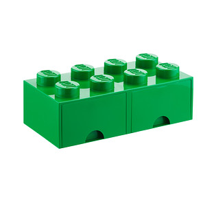 Green X-Large Lego Storage Drawer