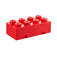 Red X-Large Lego Storage Drawer
