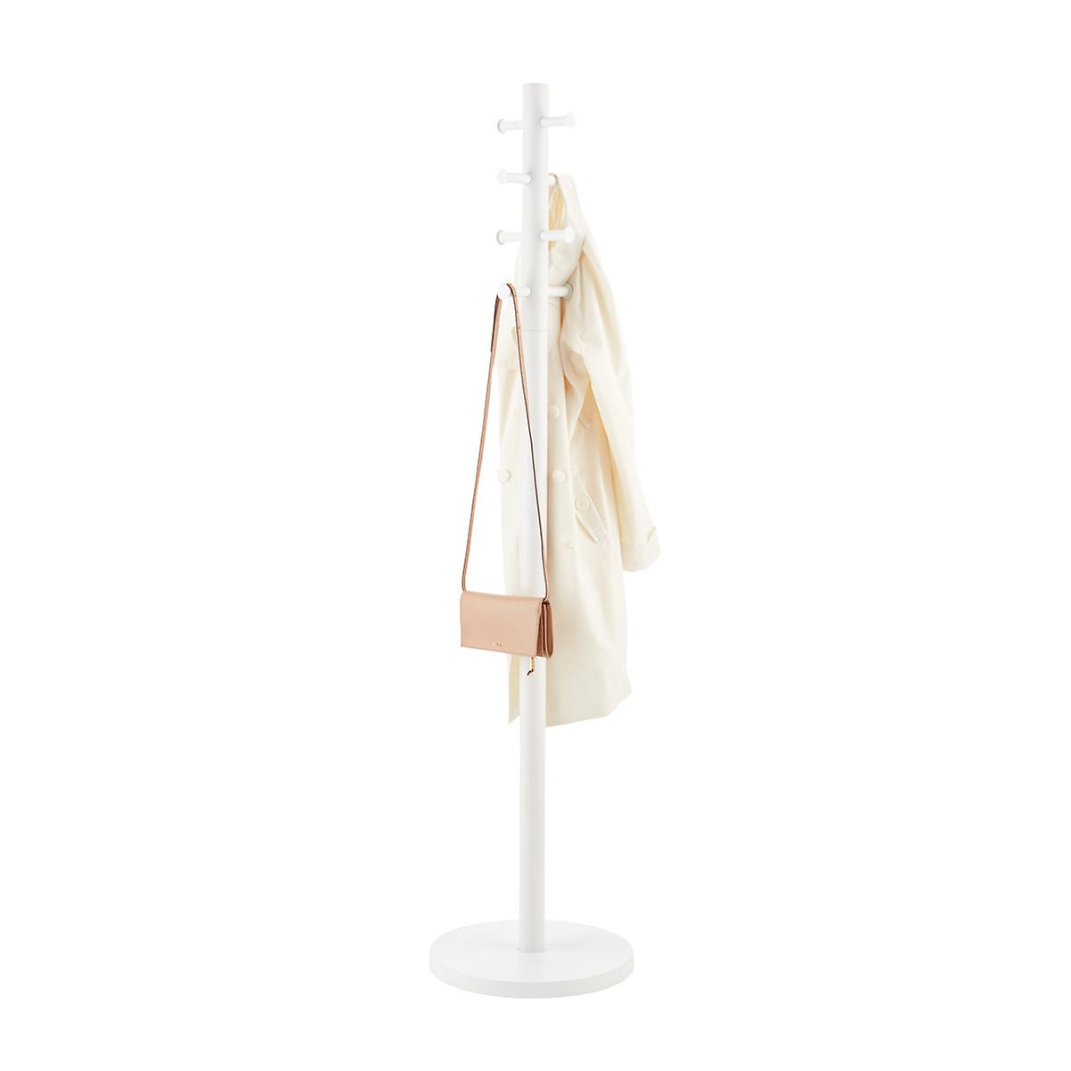 Umbra White Pillar Coat Tree