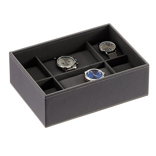 Charcoal Stackers Watch Box
