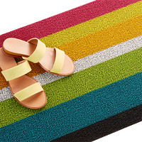 Chilewich Bold Multi Stripe Door Mat Product Image