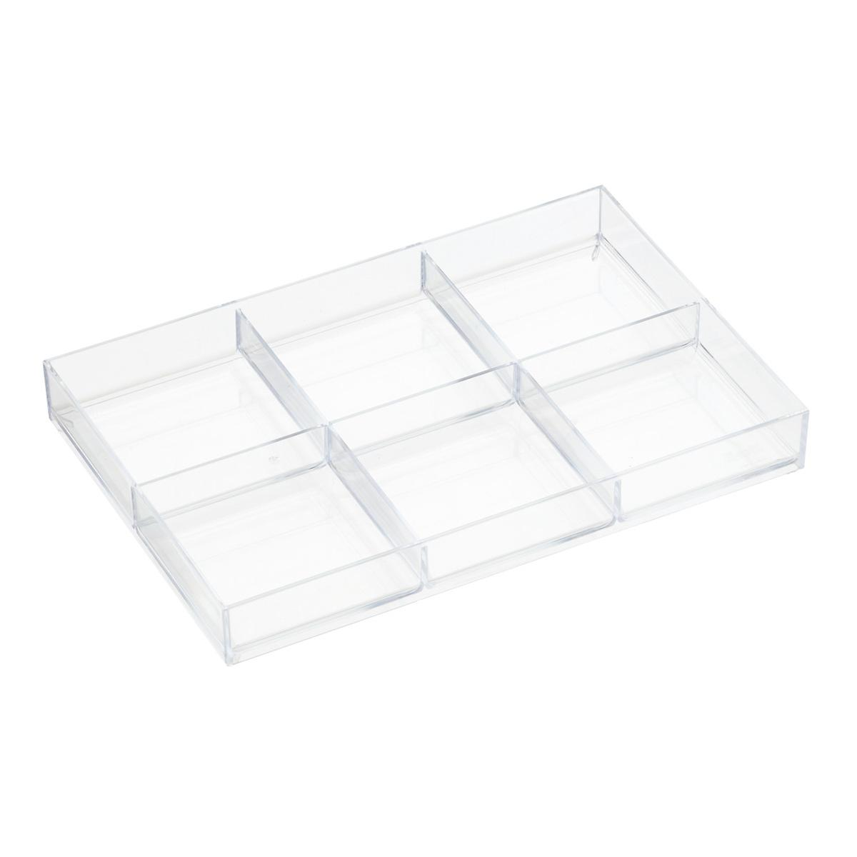 like it large 6 section drawer divider the container store