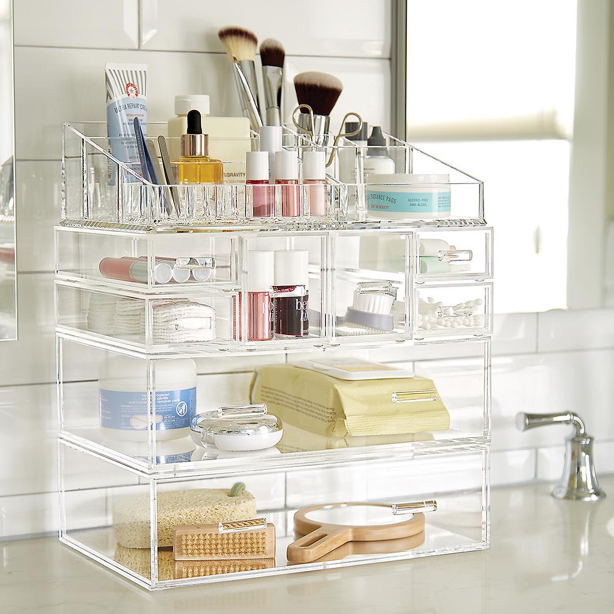 Acrylic Makeup Organizer - Large Acrylic Makeup Organizer | The ...
