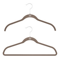 Platinum Huggable Hangers Case of 40