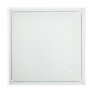 White Enameled QBO Steel Cube