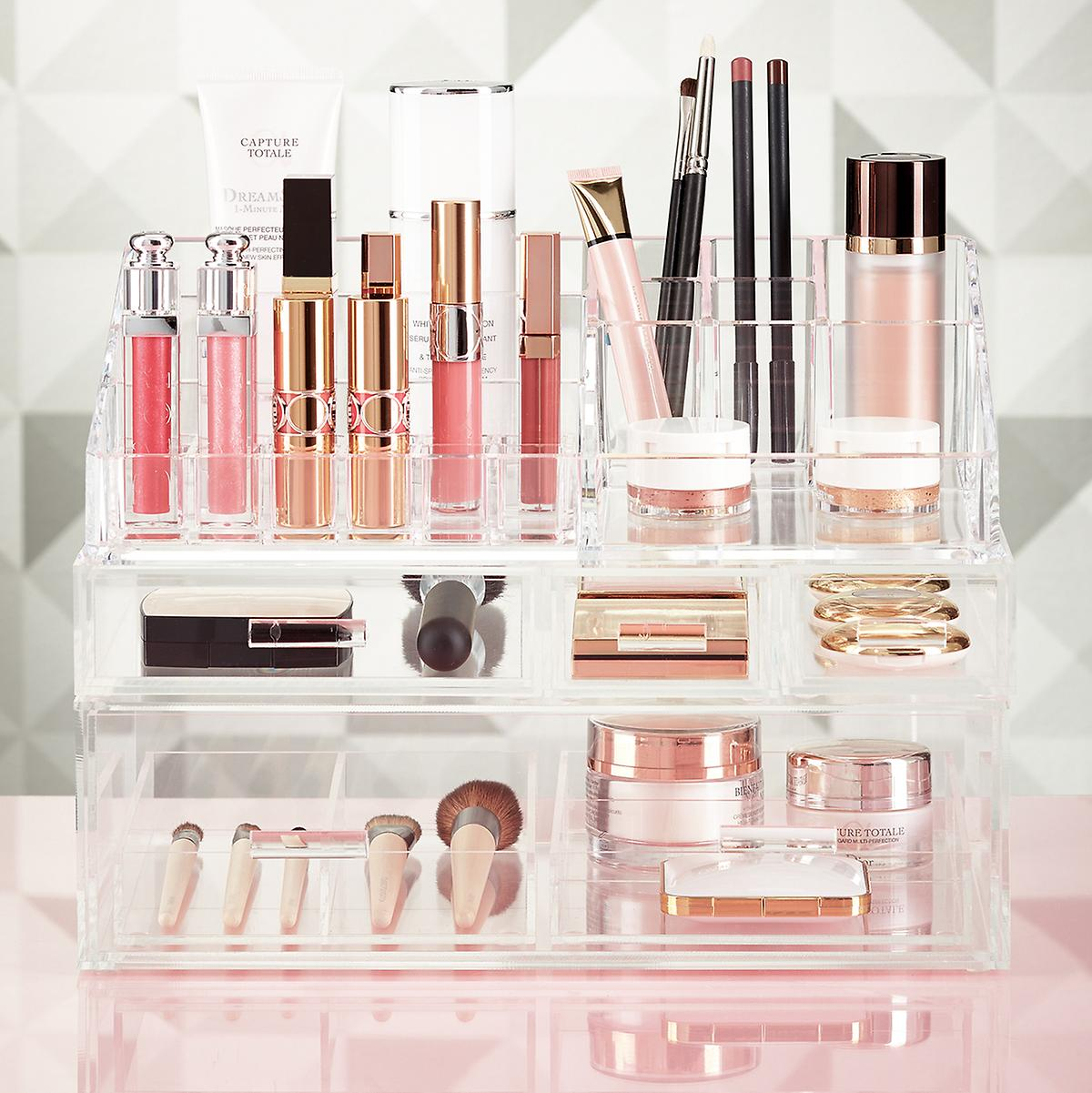 Luxe Acrylic Makeup Storage Starter Kit