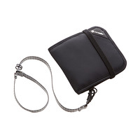Black RFID-Blocking Bi-Fold Wallet