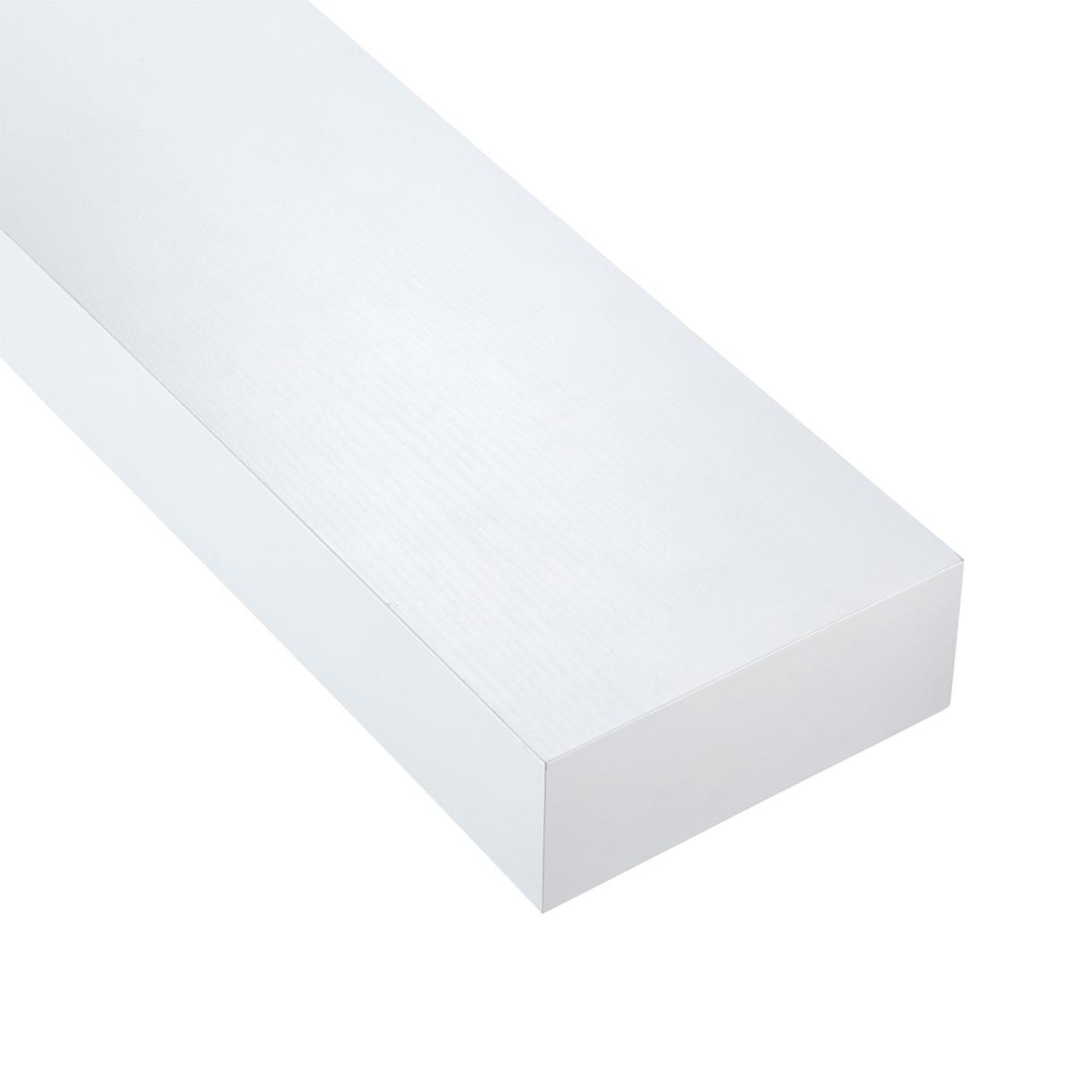 White Floating Shelves  &  &. Roll over to zoom