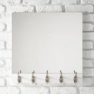 umbra whitewash 5hook wave mirror