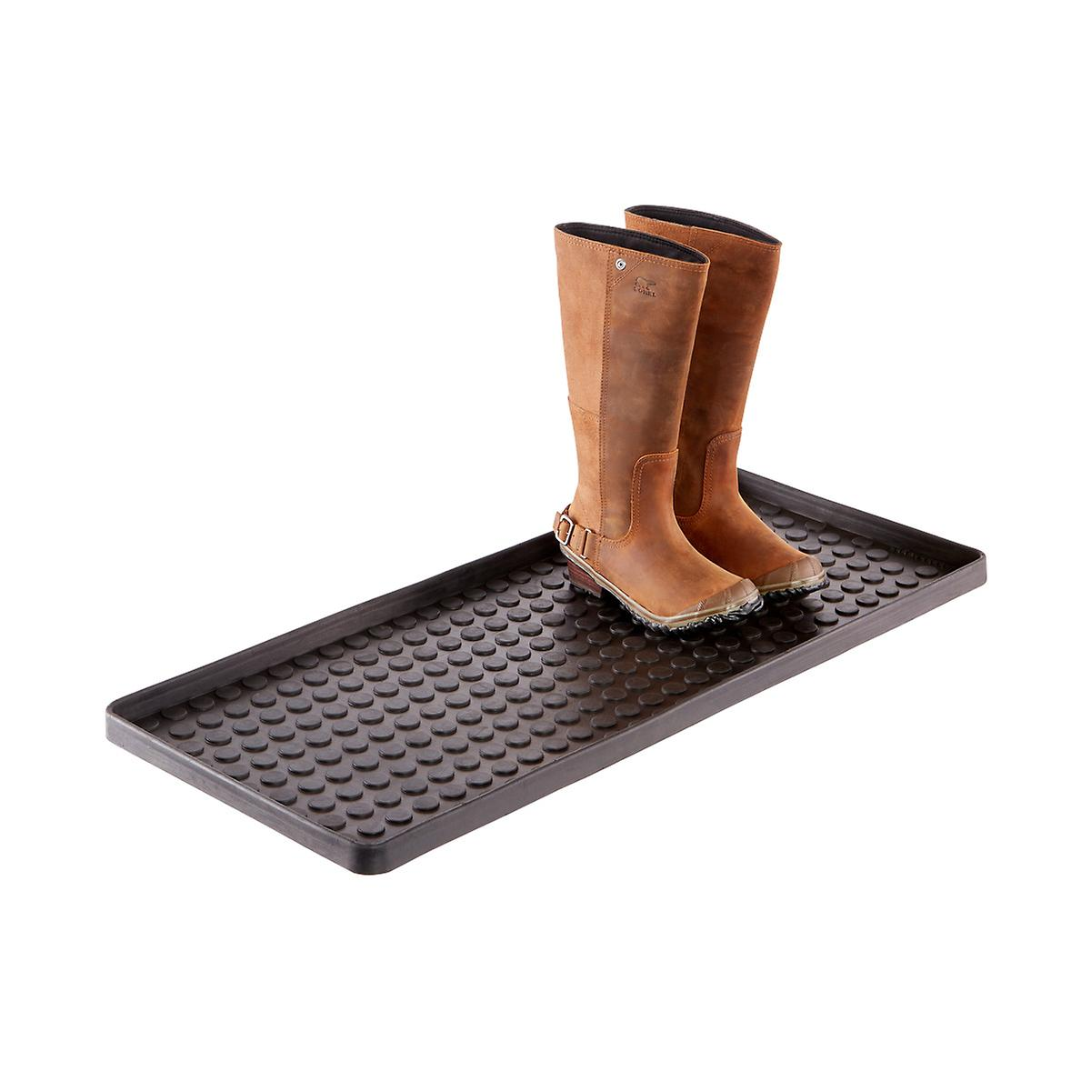 Black Large Shoe & Boot Tray