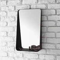 Black Vertical Arch Wall Mirror Product Image