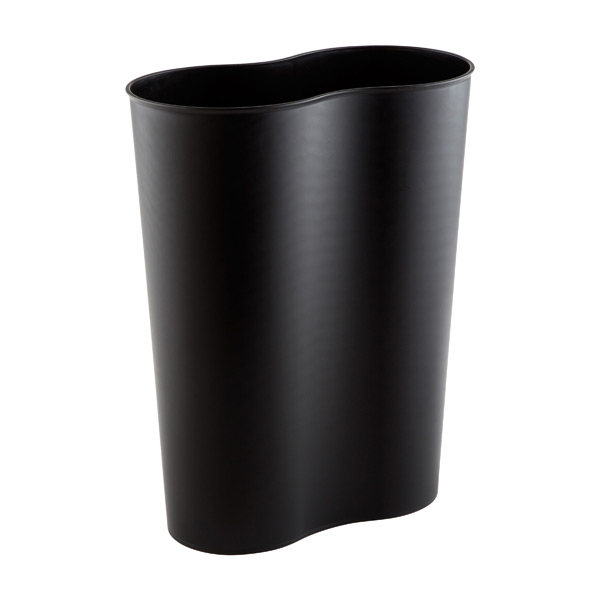 Black 3.7 gal. Eco Cocoon Trash Can