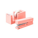Blush Poppin Tape Dispenser & Stapler